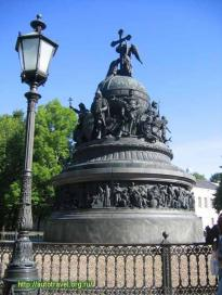 The Monument to the Millennium of Russia